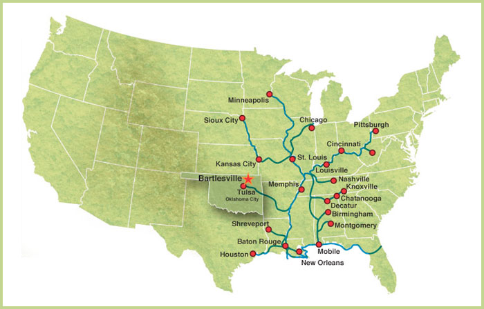 waterways map